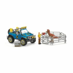 Schleich - ATV med dino-udkigsposter (41464)