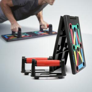 Foldbar Push Up Bræt (Armbøjninger)