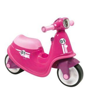 Smoby - Gå-Bil - Scooter - Pink