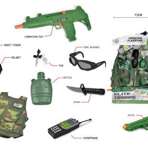 Elite Troops - Militær Udklædnings Sæt