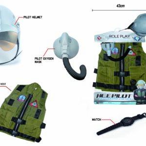 Flyvevåbnet - Jægerpilot Udklædnings Sæt