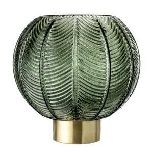 Bloomingville - Glas Vase Ø 20 cm - Grøn