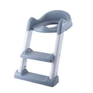 Babytrold - Toilet Træner - Hvid/grå