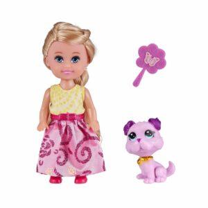 Sparkle Girlz - Cupcake Dukke og Kæledyr Legesæt