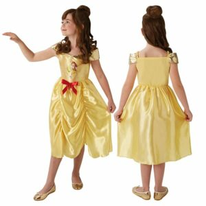 Disney Prinsesse - Eventyr Belle - Børne Kostume (Str. 128)
