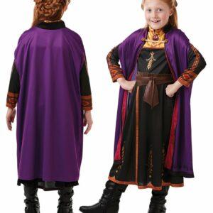 Frost - Anna Rejse Kjole - Børne Kostume (Str. 104)