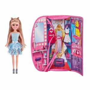 Sparkle Girlz - Dukke Legesæt - Blå