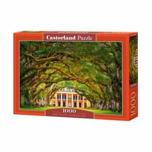 Castorland - Puslespil 1000 brikker - Allé med egetræer