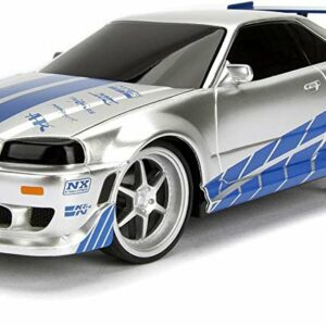 Jada - Fast&Furious - R/C Fjernstyret Bil Nissan Skyline GTR 1:24 2.4GHz