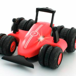 Sharper Image - Fjernstyret Bil - Spin Drifter 360° - Mat Rød