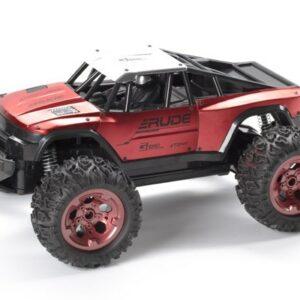 TechToys - Rude Off-Road R/C Fjernstyret Bil 1:12 2,4GHz Metallic - Rød