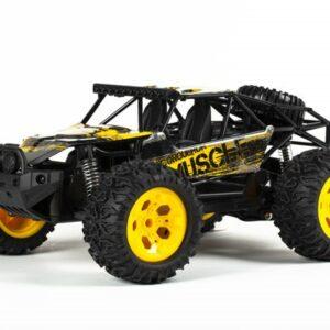 TechToys - Muscle Off-Road 1:12 2,4GHz R/C Fjernstyret Bil Metal - Gul