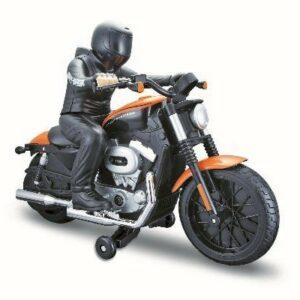 Maisto - Harley Davidson R/C med Rytter - Fjernstyret Motorcykel 27/40Mhz - Orange