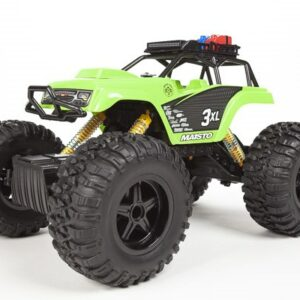 Maisto - Rock Crawler 3XL R/C Fjernstyret Bil 2,4GHz (Li-ion+USB) - Grøn
