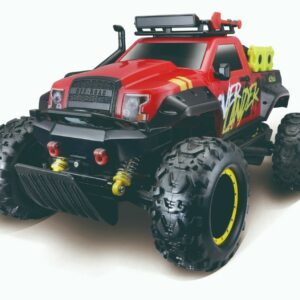 Maisto - Overlander R/C Fjernstyret Bil 2.4 GHz (Li-ion+USB) - Rød