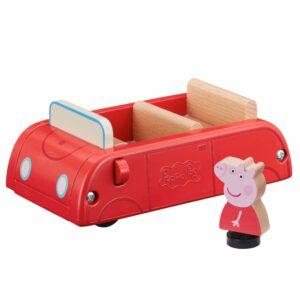 Gurli Gris - Bil i Træ med Figur