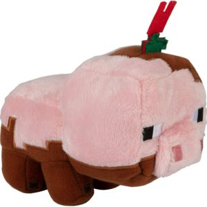 Minecraft Earth Adventure Muddy Pig Plush