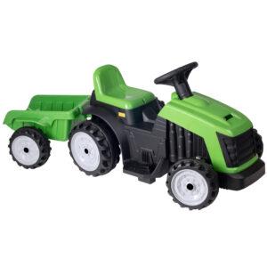 EVO - Elbil - 6V Traktor med Trailer