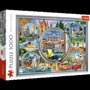 Trefl -Puslespil 1000 brikker - Italian Holiday (10585)
