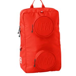 LEGO School - Signature Brick 1x2 Backpack - Bright Red (20204-0021)