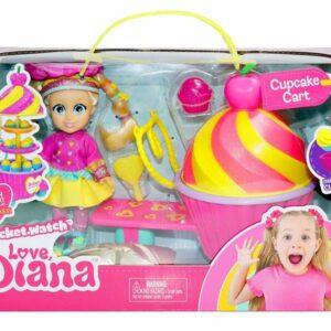 Love Diana - Cupcake Legesæt