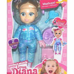 Love Diana - Doll Mashup Astronaut/Frisør (33cm)