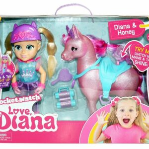 Love Diana - Hest og Dukke Legesæt