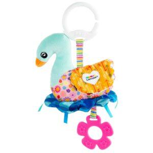 Lamaze - Sierra the Swan – On-the-Go Baby Toy