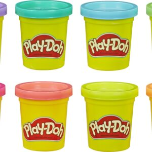 Play-Doh - 8 Pakke - Neon (E5063)