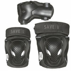 Save My Bones - Beskyttelses sæt - Sort XL