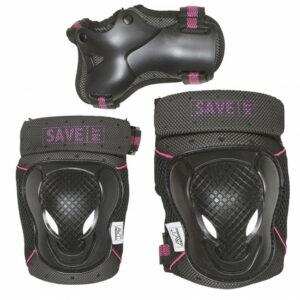 Save My Bones - Beskyttelses sæt - Pink XS