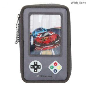 Monster Cars - Trippel Penalhus m/LED - Gameboy