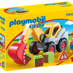 Playmobil - 1.2.3 - Shovel Excavator (70125)