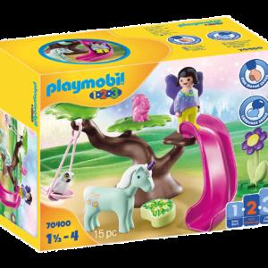 Playmobil - 1.2.3 - Fairy tree (70400)