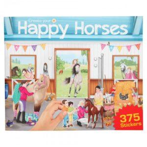 Create your - Happy Horse - Aktivitetsbog m/Klistermærker