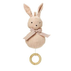 Elodie Details - Music Mobile - Powder Pink Bunny