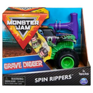 Monster Jam - Spin Rippers - Grave Digger