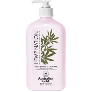 Australian Gold - Hemp Nation Wild Berries & Lavender Tan Extender Body Lotion 535 ml