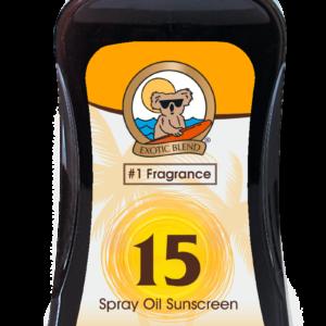 Australian Gold - Carrot Spray Oil SPF 15 237 ml