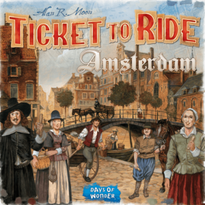 Ticket to Ride - Amsterdam (Nordisk) (DOW720963)