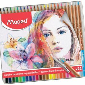 Maped - Artists - Akvarelblyanter (24 stk)