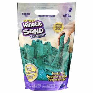 Kinetic Sand - Glitter Sand - Teal
