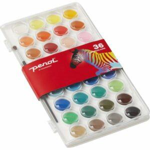 Penol - Vandfarver (36 farver)