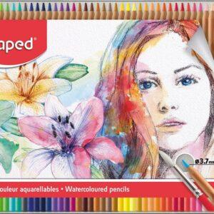 Maped - Artists - Akvarelblyanter (48 stk)
