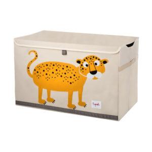 3 Sprouts - Opbevaringskasse - Orange Leopard
