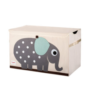 3 Sprouts - Opbevaringskasse - Gray Elephant