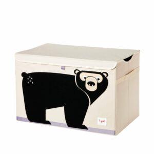 3 Sprouts - Opbevaringskasse - Black Bear