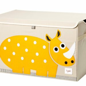 3 Sprouts - Opbevaringskasse - Yellow Rhino