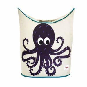 3 Sprouts - Laundry Hamper - Purple Octopus