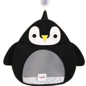 3 Sprouts - Opbevaringspost til Bad - Black Penguin